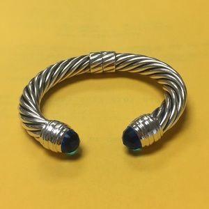 David Yurman sterling silver  10 mm bracelet